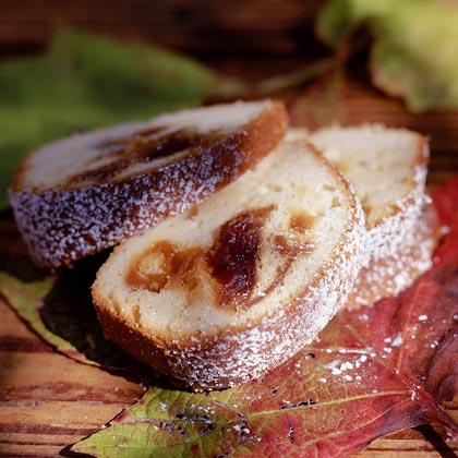 Apple Cider-Caramel Cake