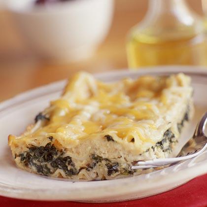 Lasagna-Chicken Florentine