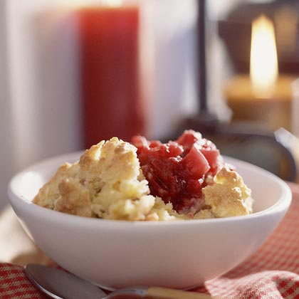 Apple-Cranberry Cobbler