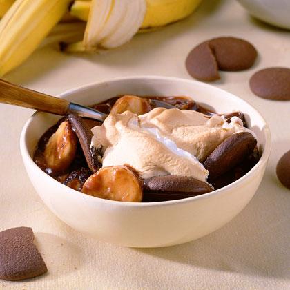 Fudge-Banana Pudding