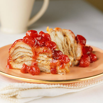 Cinnamon-Cherry Coffee Cake