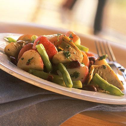 Marinated Potato-and-Artichoke Salad