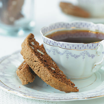 Coffee-Hazelnut Biscotti