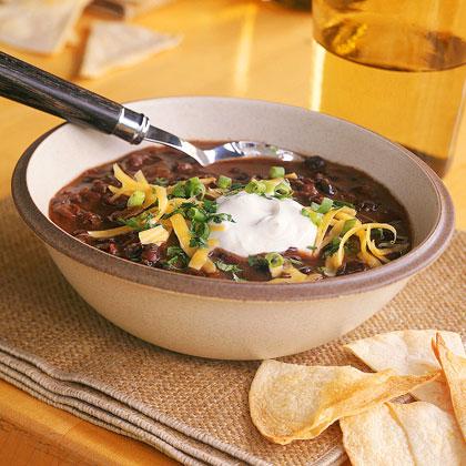 Instant Black Bean Soup