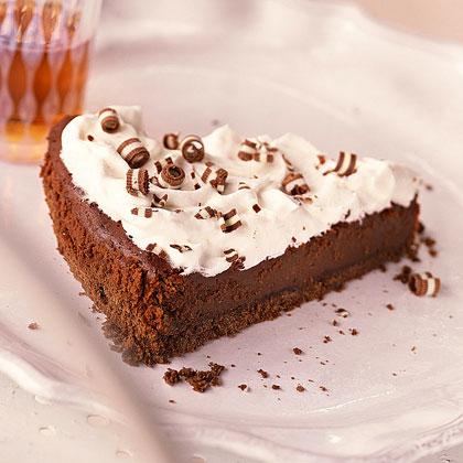 Mint-Fudge Tart