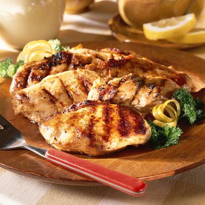 Chicken in Lemon Marinade