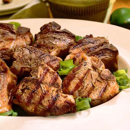 Joan's Rosemary Lamb Chops