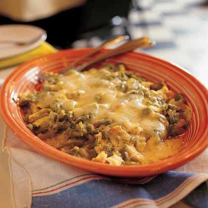 Green-Sauced Chicken Enchiladas