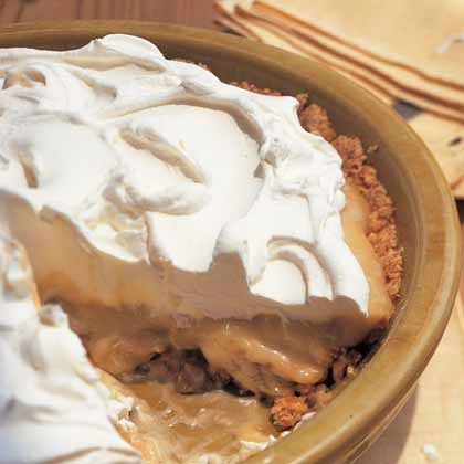 Peanut Butter-Banana Pie