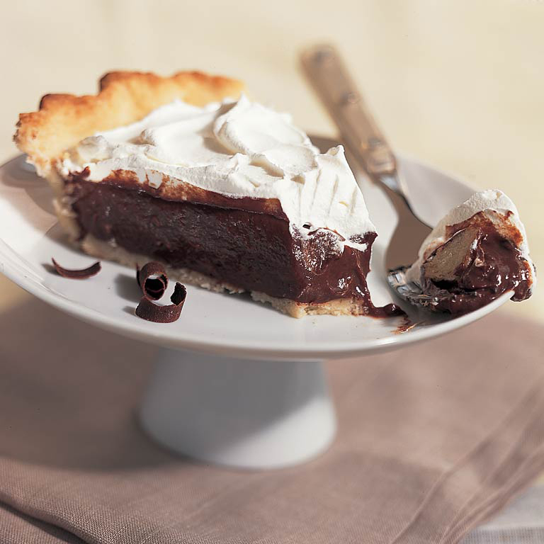 Double-Chocolate Cream Pie