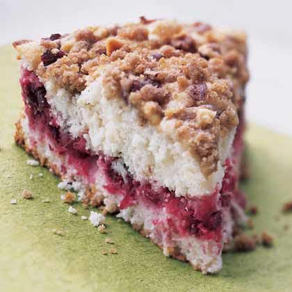 Cranberry-Hazelnut Coffeecake