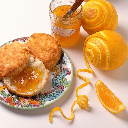 Candied Orange Rind