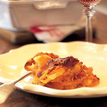 Potato and Sun-Dried Tomato au Gratin