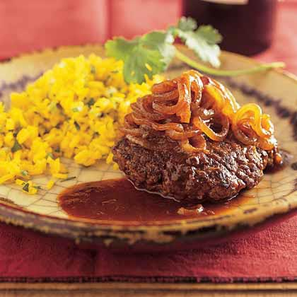 Smothered Sirloin Steak with Adobo Gravy