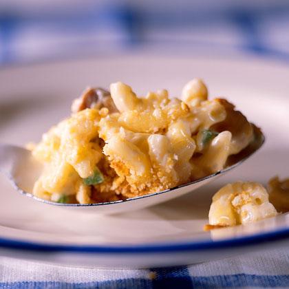 Macaroni-Mushroom Bake