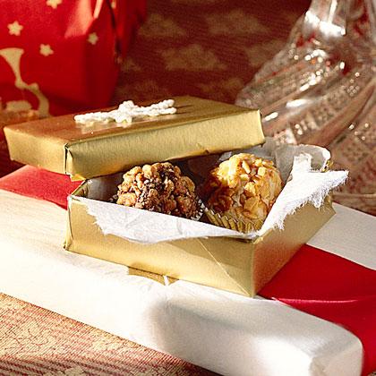 Chocolate-Praline Truffles