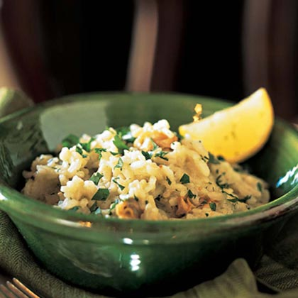 Risotto Alle Vongole (Risotto with Clams)