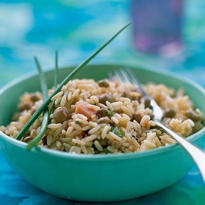 Rice and Pigeon Peas