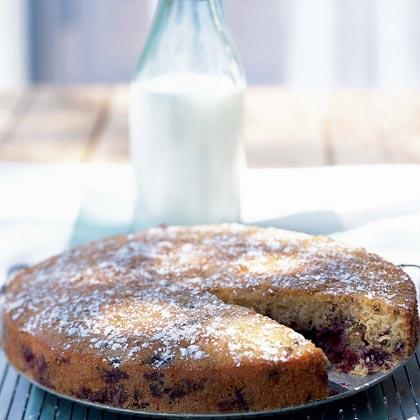 Blueberry-Pecan Cake