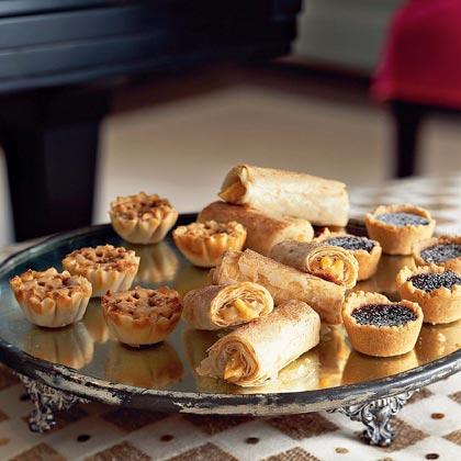 Mini Mocha-Toffee Crunch Cheesecakes