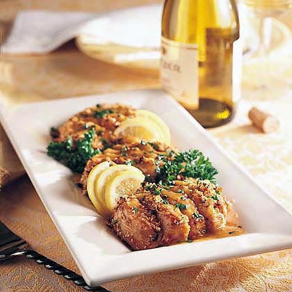 Sesame-Crusted Turkey Mignons