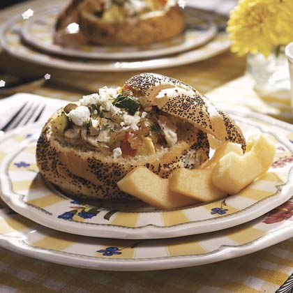 Veggie Bread Bowl