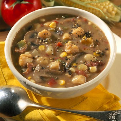 Scallop and Vegetable Gumbo