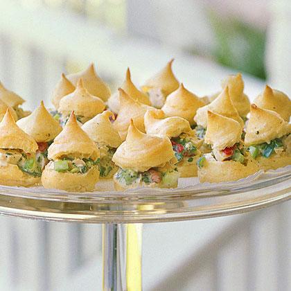 Chicken Salad Cream Puffs