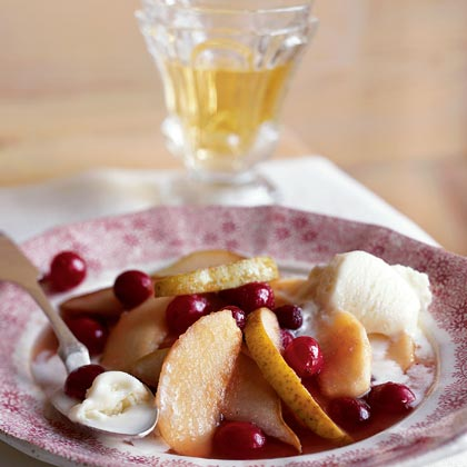 Baked Compote of Winter Fruit