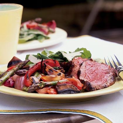 Grilled Antipasto Vegetables