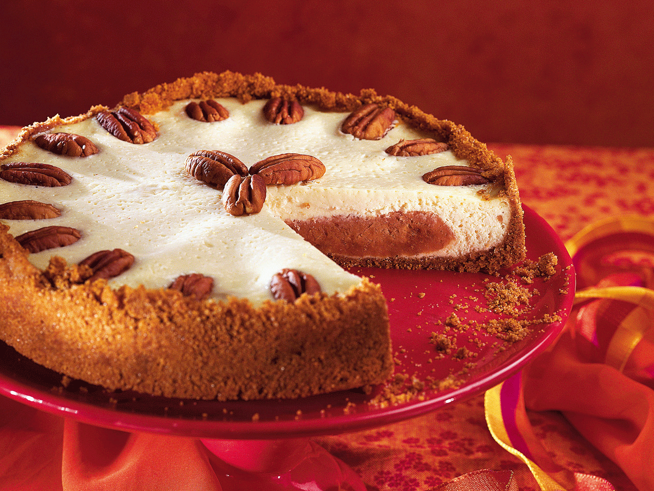 Pumpkin Pie Cheesecake (enlarged)