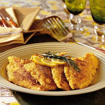 Fried Lemon-Rosemary Catfish