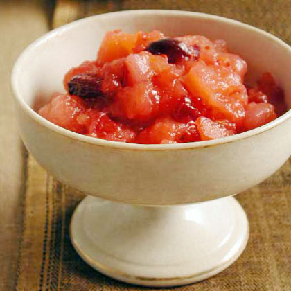 Pear-Cranberry Sauce