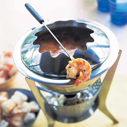 Shrimp Bouillabaisse Fondue