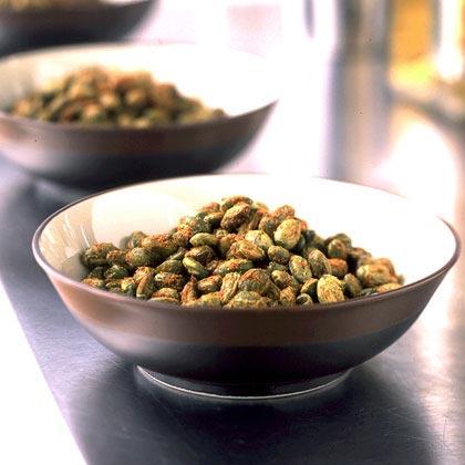 Roasted Chile-Spiced Edamame