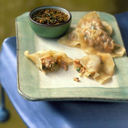 Pork and Kimchi Dumplings