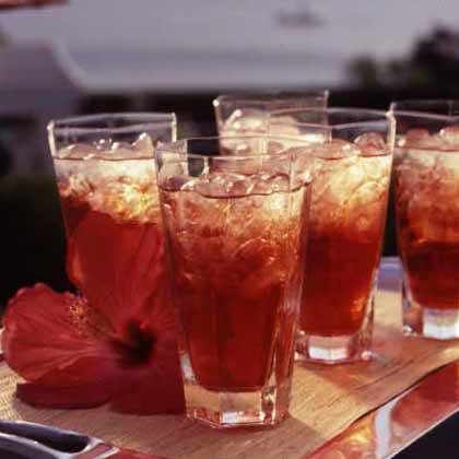 Hibiscus Tea Punch