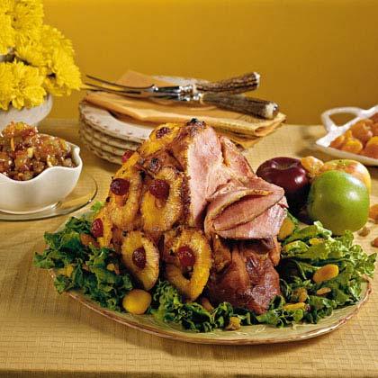 Pineapple-Glazed Ham