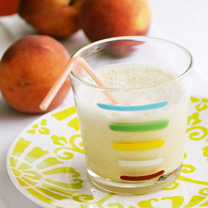 Banana-Peach Shake