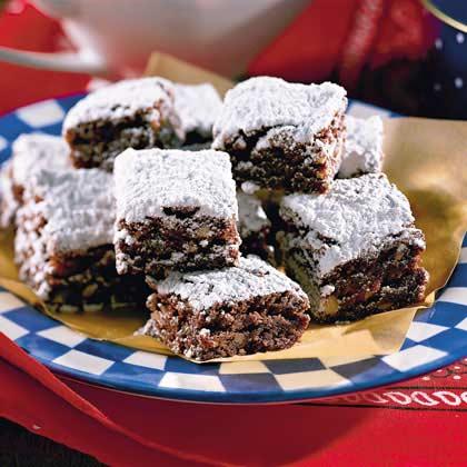 Fudge Cake Brownies