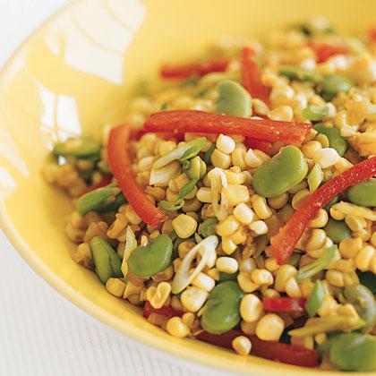 Charred-Corn Succotash