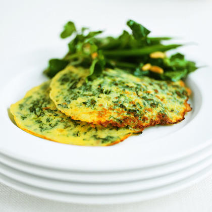 Watercress and Green Beans with Lime Vinaigrette
