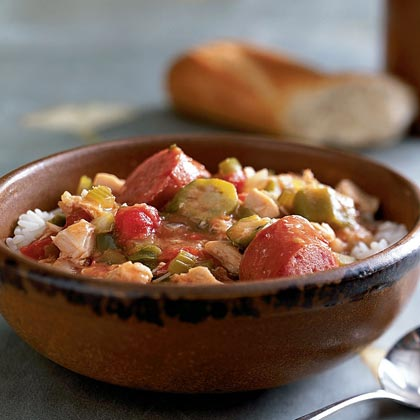 Sausage and Chicken Gumbo