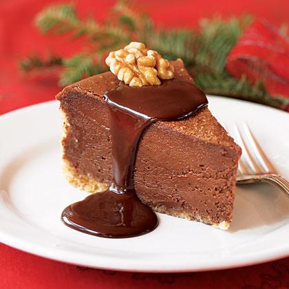 Hot Fudge Cheesecake