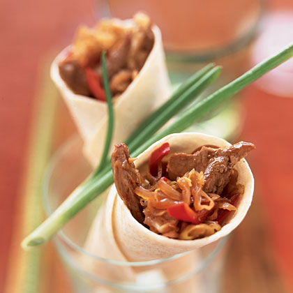 Mu Shu Pork Wraps