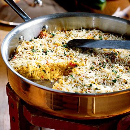 Vegetable-Pasta Oven Omelet