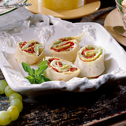 Roasted Red Pepper Rollups