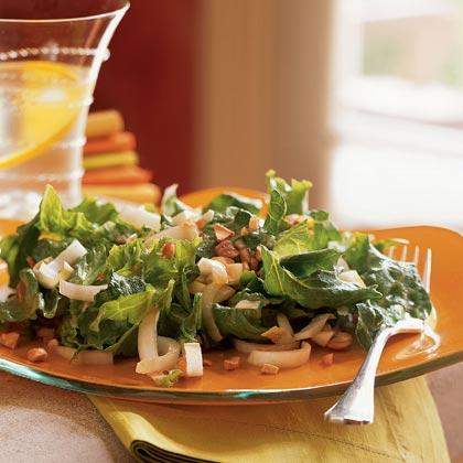 Endive, Sweet Lettuce, and Cashew Salad
