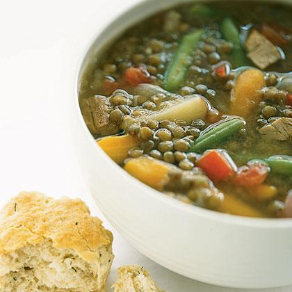 Spring Lentil Soup