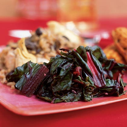 Spicy Swiss Chard with Lemon